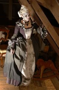 Spökräkt i 1700-tals- stil.