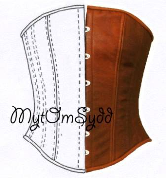 Korsettmönster av Mytomsydd.